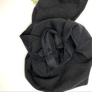 lululemon athletica Pants - Lululemon In The Flow II Medium Grey Crop Tights 4